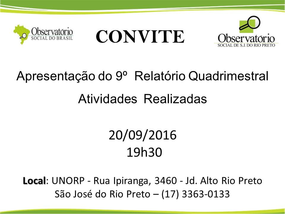 convite-9o-relatorio-quadrimestral